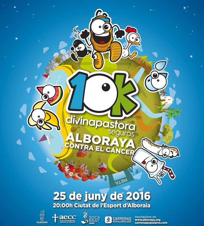 La V edición de la 10K Divina Pastora Alboraya contra el Cáncer abre inscripciones