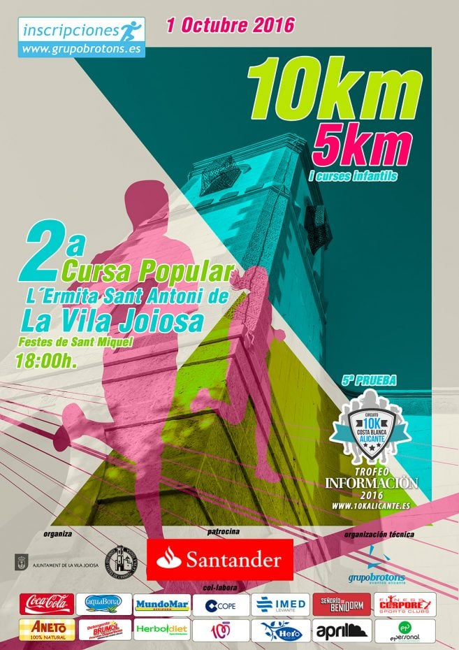 2ª Cursa Popular L´Ermita Sant Miquel de La Vila Joiosa