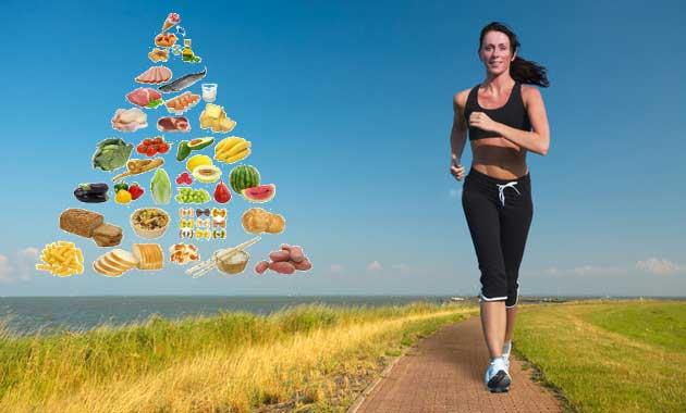 Qué Alimentación debemos tener al practicar el running