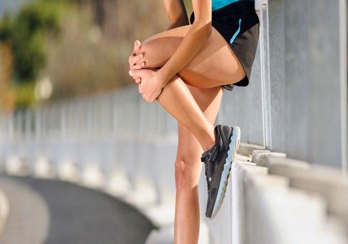 Molestos dolores en las rodillas de los runner