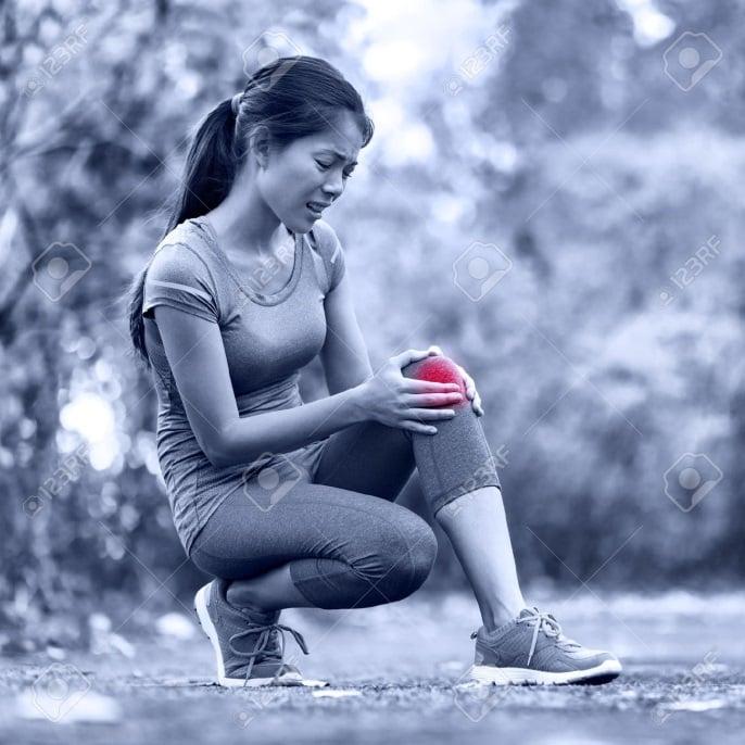 dolores en las rodillas de los runner